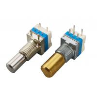 Buy cheap 360° Total Rotational Angle Incremental Encoder With Push Switch For Audio Equipment from wholesalers