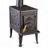 Buy cheap Cast Iron Stove with Ash Box and Grate, Available in Black from wholesalers