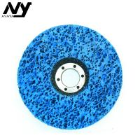 Buy cheap 4 Inch Clean And Strip Disc , Paint Stripping Wheel For Wood Fiberglass Backing from wholesalers