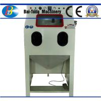 Buy cheap Iron Steel / Plastic Products Industrial Sandblast Cabinet 200kg Net Weight product