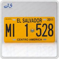 EL SALVADOR Car Plate for the size:300x150mm , Material: Aluminum, Color: yellow,blue and so on.