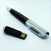 Buy cheap Business Pen Usb Drive 64gb Usb 2.0 Promotional 3 Years Warranty Long Service from wholesalers