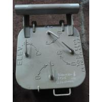 Marine Steel Small Weathertight Marine Hatch Cover With 4 Dog Clips Manufactures