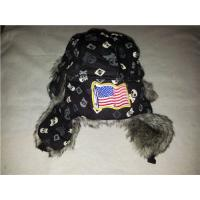 Buy cheap 2017 new design YIWU Men women winter trapper windproof bomber leather aviator hat fashion fake fur winter trapper hat from wholesalers