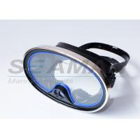 Buy cheap Scuba Diving Classic spear fishing One-Window Silicone Purged Mask with metal frame from wholesalers
