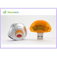 Buy cheap Circle Shape 8GB Plastic USB Memory / USB 1.1 Flash Disk In Windows OS from wholesalers
