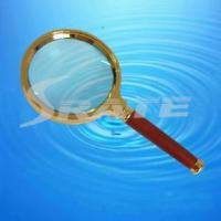 Buy cheap 6X Wood Handle Magnifying Glass with Alloy Frame(CY-049) from wholesalers