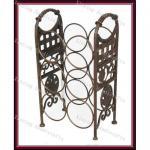 Buy cheap Wrought iron floor wine racks/wine racks from wholesalers