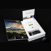 Buy cheap Custom Car's Key Magnetic Paper Box Within Specification CMYK Litho Printing from wholesalers