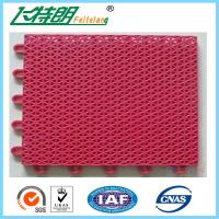 Wholesale Custom PP Interlocking Rubber Floor Tiles High UV Resistant Anti Aging With Holes from china suppliers