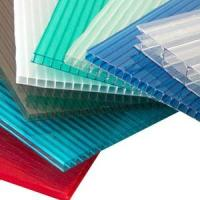 Soundproof Heat Insulation Light Weight Polycarbonate Hollow Sheet 4mm-30mm Manufactures