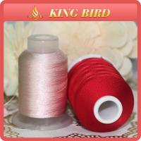 Wholesale Red High Tenacity 120d 2 Viscose 100% Rayon Embroidery Threads for Machines from china suppliers