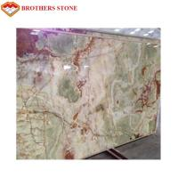 Buy cheap Amazing Light Green Jade Onyx Slab , Ornament Light Green Jade Stone Panels from wholesalers