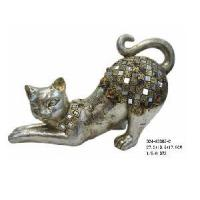 Buy cheap Home Decoration Cat Figurine (D24-83305-2) from wholesalers