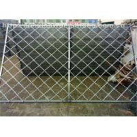 Buy cheap Razor Iron  Nato Security Barbed Wire , Low Carbon Chain Link Fence With Razor Wire from wholesalers