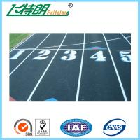 13mm Mixed Running Track Surfaces Recycled Granules Athletic Runway Surface