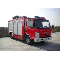 Wholesale 4x2 chassis 260 L/Min Flow Light Fire Truck Halogen Lamp Tanker Fire Truck from china suppliers
