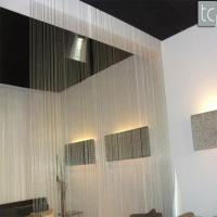 Buy cheap Hot sale fashion metal ball chain curtain metal beaded curtain for room divider partition from wholesalers