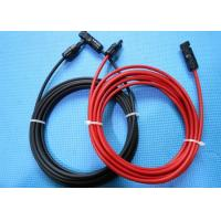 Wholesale 4mm Solar Panel Extension Extended Cable Wire Cord with MC4 Connector TUV CE from china suppliers