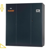 Buy cheap 1100mm Length 102kw Crac Computer Room Air Conditioning unit Black from wholesalers