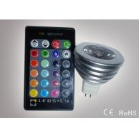 Buy cheap Colour Changing Led Lights 3W MR16 Remote Control Led Lights ATF-RGB3WMR16 from wholesalers
