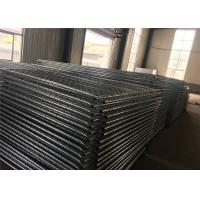 Buy cheap Temporary Chain Link fence panels 4' 6' 8 ' optional width 12 ' tubing 1¼(32mm) x 1.6mm thick 2⅜x2⅜(60mmx60mm) from wholesalers