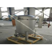 Buy cheap 0.5 Micron SS Bag Filter Housing With 1000 m3 / h Flow Capacity For Water Treatment from wholesalers