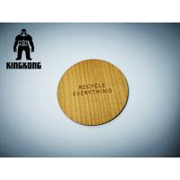 Wholesale Mifare 1K IC Chip Wooden RFID Cards With Engraving Silkscreen Printing from china suppliers