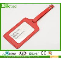 Buy cheap PU leather promotion luggage tag for travel,Baggage Tag,Selling luggage tag from wholesalers