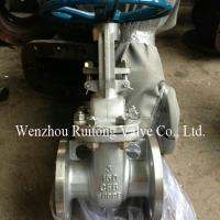 Wholesale stainless steel 304 316 API flange gate valve class150 class300 from china suppliers