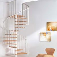 Wholesale High quality wooden spiral stairs price from china suppliers