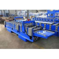 Buy cheap Stable Running Steel Bar Truss Deck Roll Forming Machine H450beam Housing from wholesalers