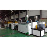 Buy cheap High Efficiency Plastic Tubing Extrusion Machines ABB Frequency Controller from wholesalers