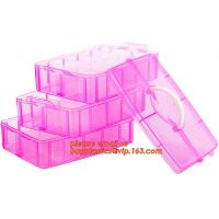 Buy cheap adjustable plastic storage box plastic screw bead box, Detachable Compartments Clear Plastic Divided Storage Box for Scr from wholesalers
