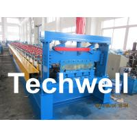Floor Deck Roll Forming Machine, Decking Sheet Roll Forming Machine Manufactures