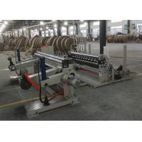 Quality Abrasion Resistant Paper Cutting Machine , 1600C Paper Roll Slitter Rewinding Machine for sale