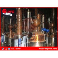 1000L steam gin short path distillation column machine for sale Manufactures