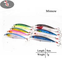 9cm/7g Hard minnow fishing lure minnow lure Manufactures
