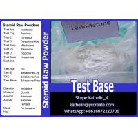Buy cheap Steroid Raw Powder Testosterone Base / Test Base / TTE / For Bodybuilding 58-22-0 from wholesalers