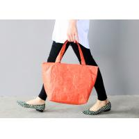 Wholesale Women ' S Tyvek Travel Tote Bags Water Resistant Light Weight For Shopping from china suppliers