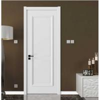 Buy cheap Elegant Modern Wood Panel Door For Hotel With Locks White Color VF-611 product