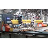 Buy cheap Full Automatic CNC Flame and Plasma Cutting Machine With Hypertherm Powermax85 Plasma Power by Two Fuji Motor from wholesalers