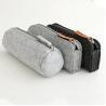 Buy cheap Promotional zipper round felt pencil pouch/ pencil cases. size:20cm*6.5cm 2mm felt material. from wholesalers