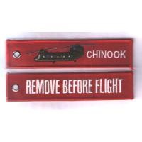Chinook  Remove Before Flight Personalized Promotional Key Tags Fobs Wholesale Manufactures