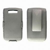 Buy cheap PC Mobile Phone Holster for Rim's BlackBerry Bold 9800, with Rubber Coating Surface Finish from wholesalers