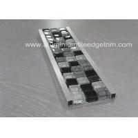 Buy cheap Bathroom Mosaic Tile Trim , Mosaic Tile Corner Pieces Wall Liner Different Size from wholesalers