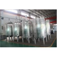 Buy cheap Stainless Steel Tanks / Stirring StorageTank for Drink Production Line from wholesalers
