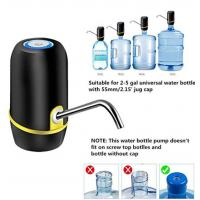 Buy cheap Lithium Battery Rechargeable Electric Water Dispenser Pump With Food Grade Material from wholesalers
