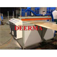 Furniture Cabinet PVC Foam Board Machine / PVC Board Production Line Manufactures