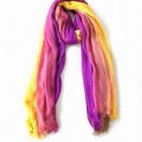 Buy cheap Scarf, Soft Hand Feeling and Nice Color Fastness, Made of 100% Modal from wholesalers
